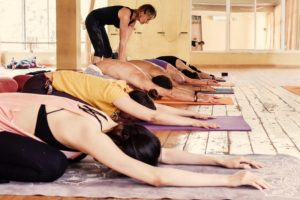 Clase de yoga Canarias
